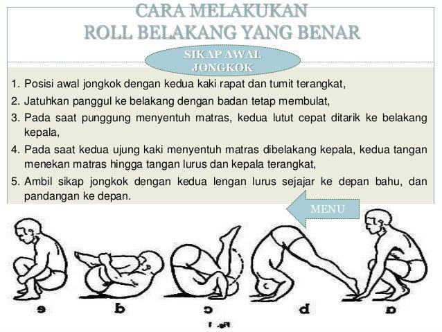 Roll Depan Dan Roll Belakang
