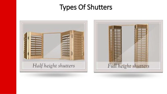 Facts about plantation shutters - Types shutters consider windows ...