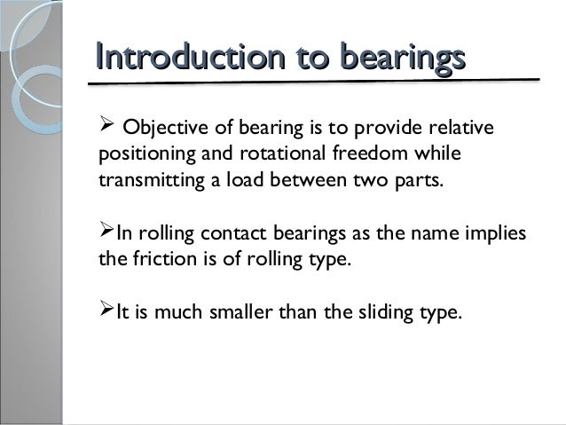 Hydrodynamic journal bearing.