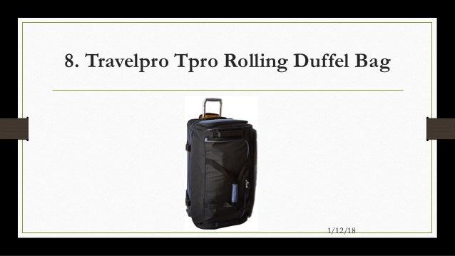 Travelpro Tpro Rolling Duffel Bag ... 06b4aec6e5de0
