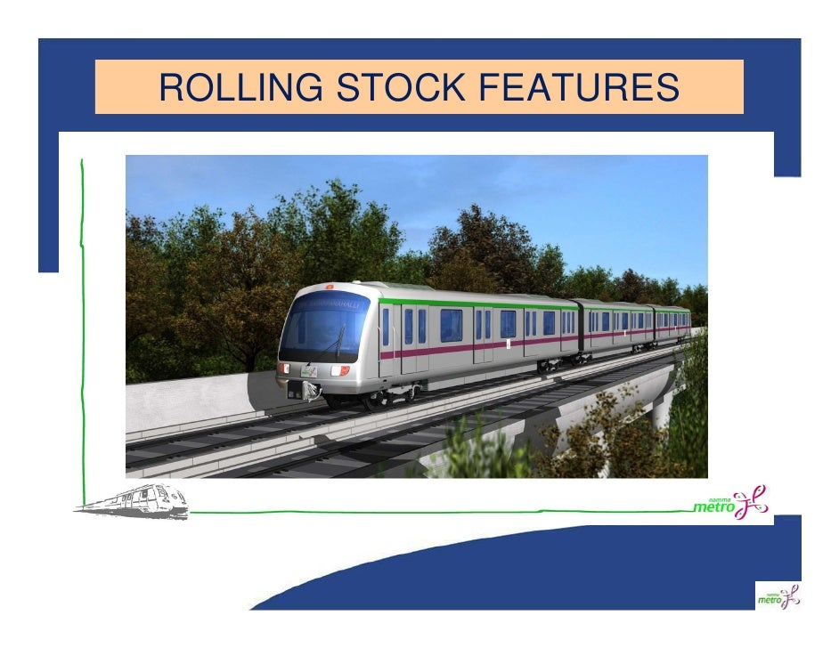 ROLLING STOCK FEATURES