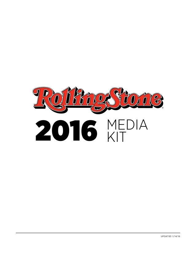 Rolling stone media kit 2016