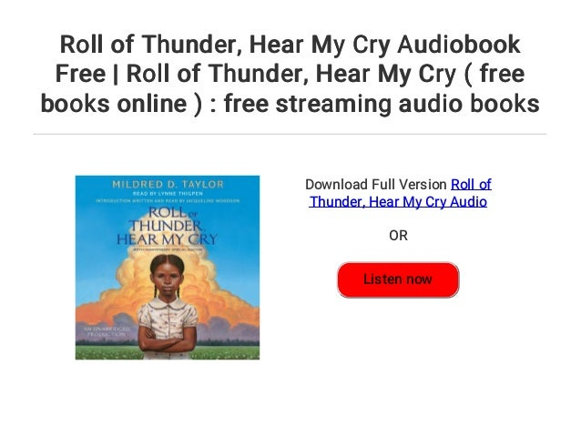 read roll of thunder hear my cry online for free