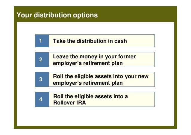 Best pension rollover options