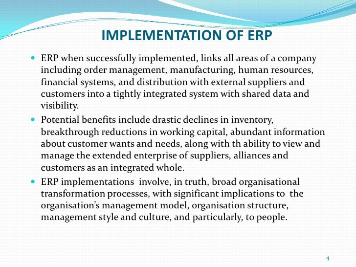 erp case study examples pdf