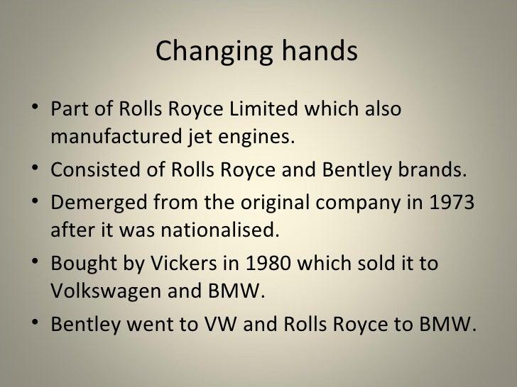 Rolls Royce Presentation Slide 3
