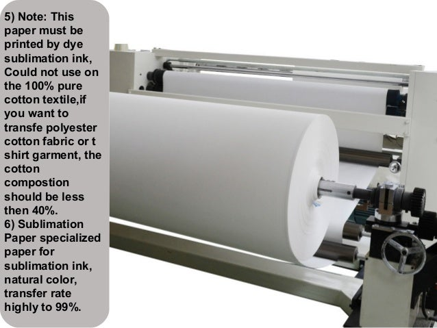 Roll Tacky Sublimation Paper For Garment Printing