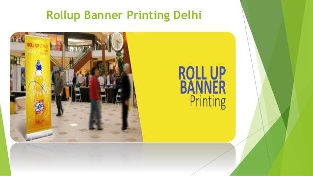 Rollup Banner Printing Delhi