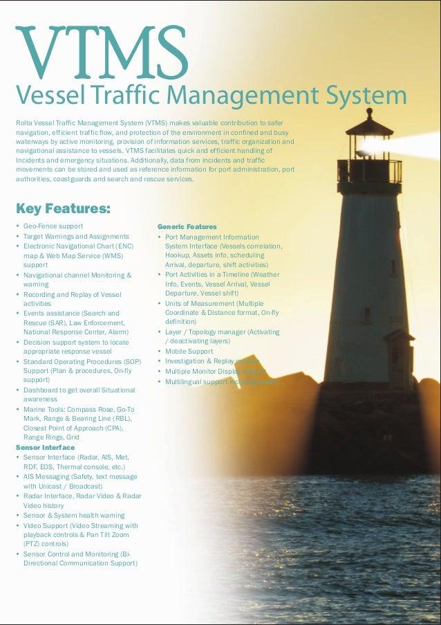 Vessel Traffic Management System Slide 2