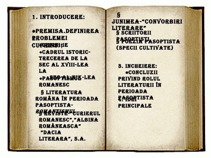 Rolul Literaturii  In Perioada Pasoptista Slide 2