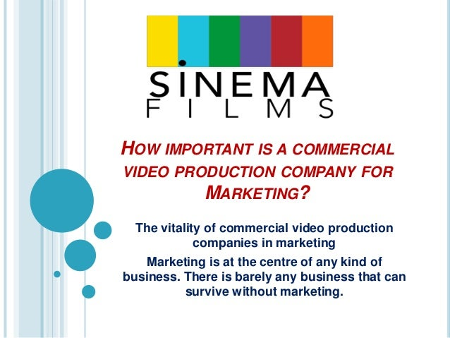 how to build a video production company