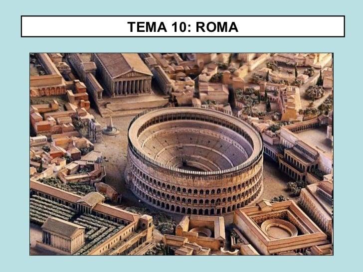 TEMA 10: ROMA