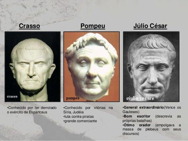 Resultado de imagem para triunvirato cesares