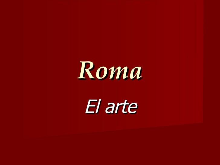 RomaEl arte