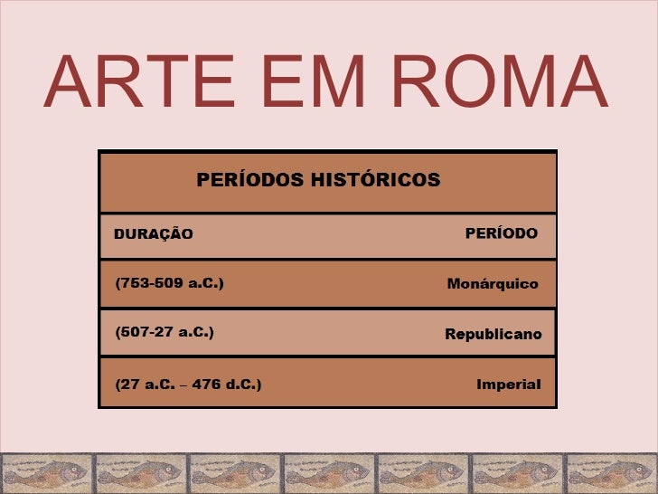 ARTE EM ROMA