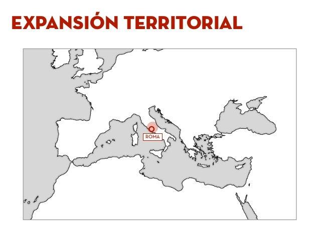 expansión terriTORIAL ROMA
