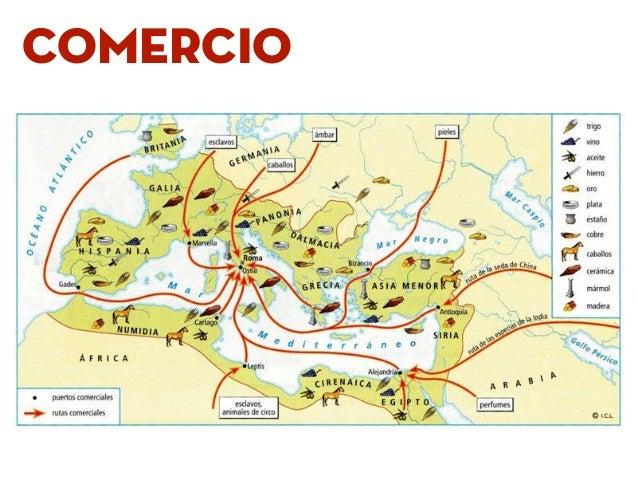 A economía romana se baseaba nun sistema de produción escravista.