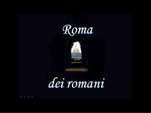 Roma dei romani