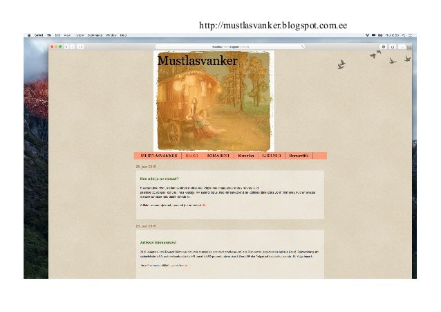 http://mustlasvanker.blogspot.com.ee