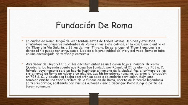 Roma  Slide 2
