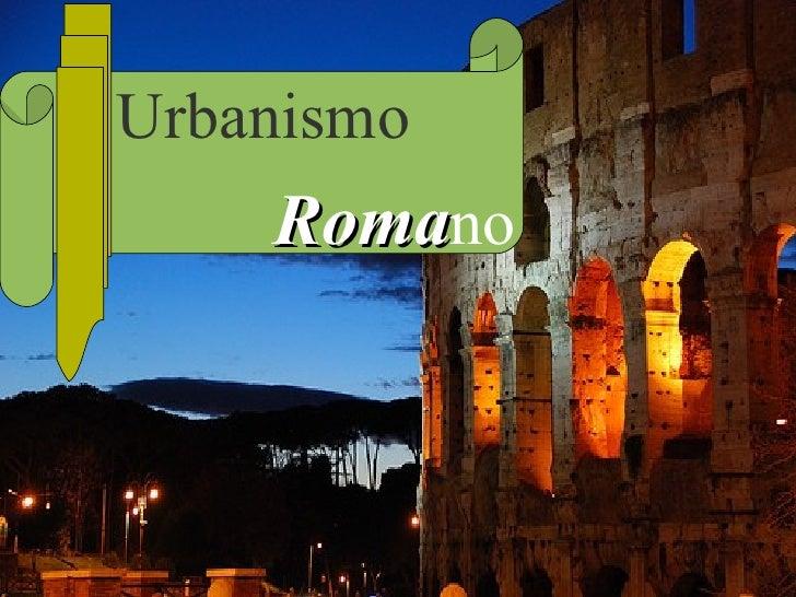 Urbanismo Roma no