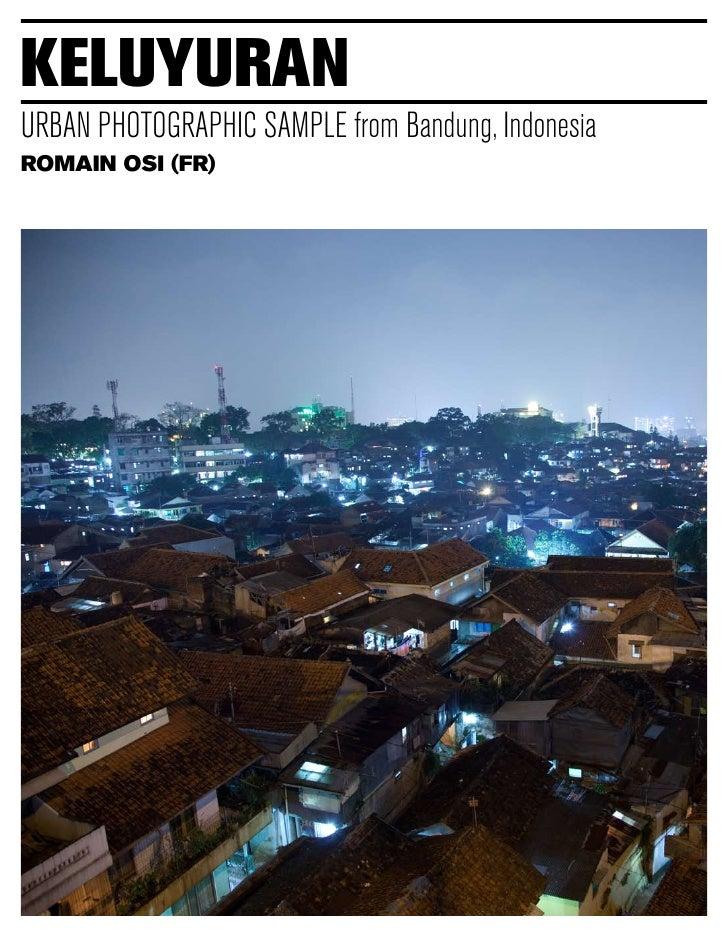 keluyuran URBAN PHOTOGRAPHIC SAMPLE from Bandung, Indonesia ROMAIN OSI (FR)