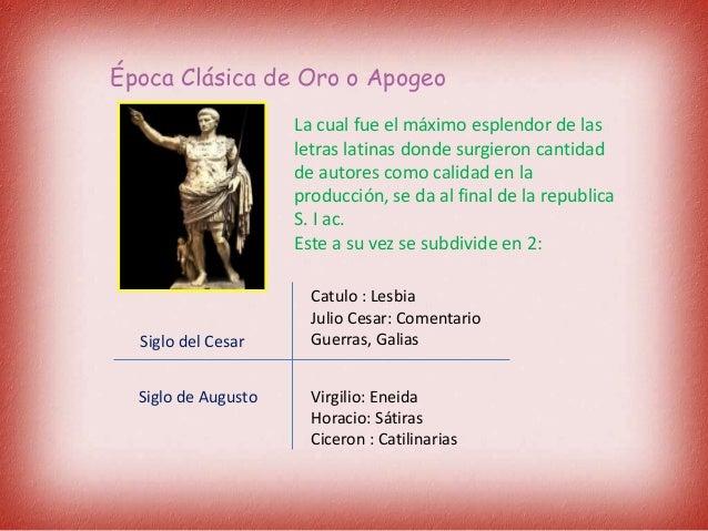 epocas de la literatura latina - photo#48