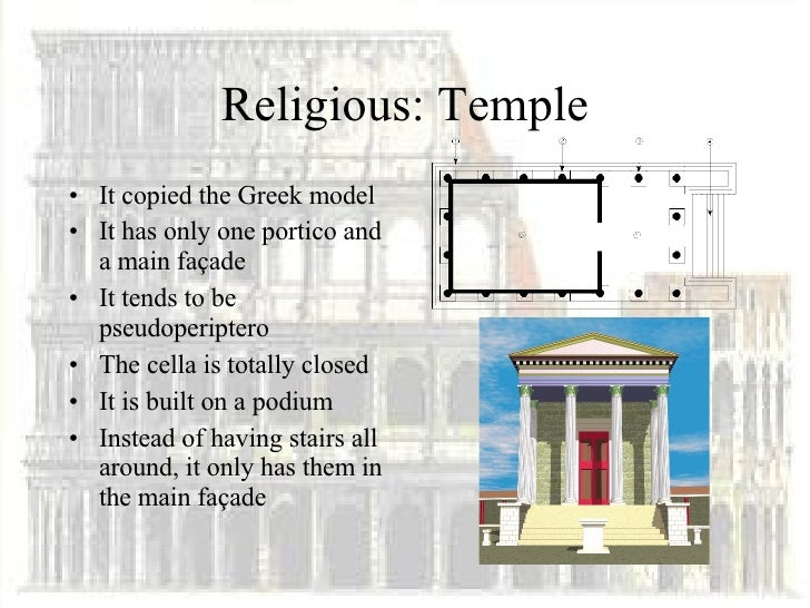 essays about roman architecture Disclaimer: free essays on architecture posted on this site were donated by anonymous users and are provided for informational use only the free architecture research paper (roman architecture essay) presented on this page should not be viewed as a sample of our on-line writing service.