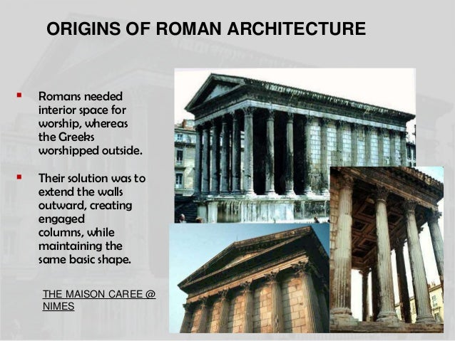 Roman Architecture Elements And Innovations