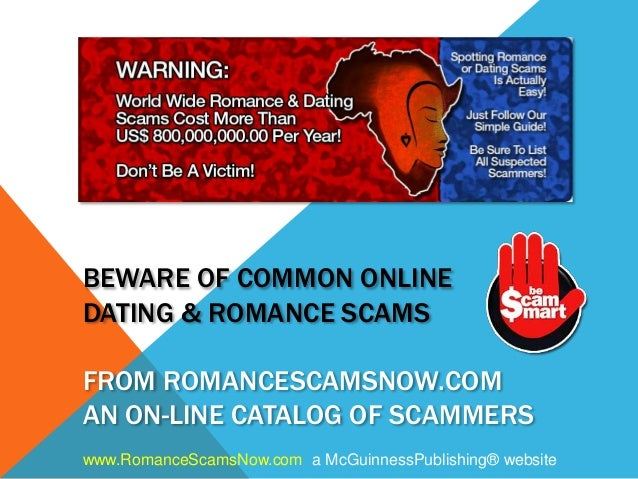 Popular online dating scams