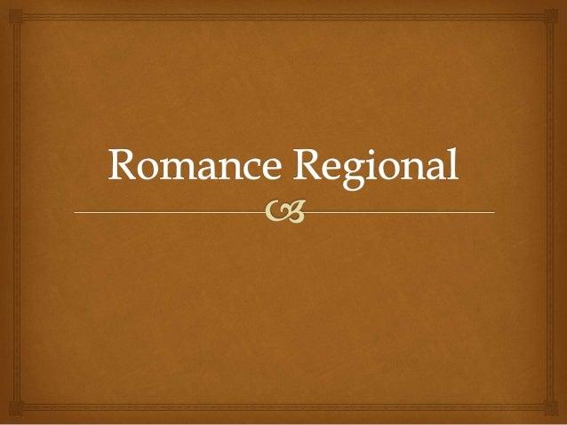 Origem e características O Romance Regionalista é uma escola literária que surgiu em meados do século XIX no Brasil . As...