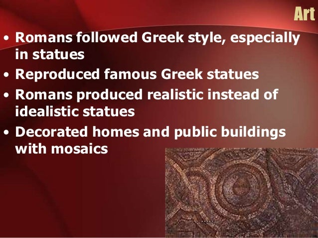 history and culture of the roman society The ancient romans in sicily  it is the standard by which other societies are  measured  of world history often overlooks the pre-eminent importance of  rome's defining role  european culture was --and is-- defined by its roman  heritage.