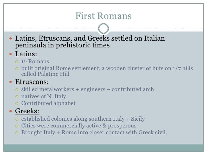 World History Chapter 6 Ancient Rome And Early Christianity