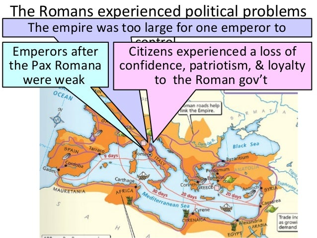 the factors linking the fall of the roman empire Characteristics of the feudal world   the middle ages or medieval time is believed to have started with the fall of the roman empire in 476 and to have lasted.