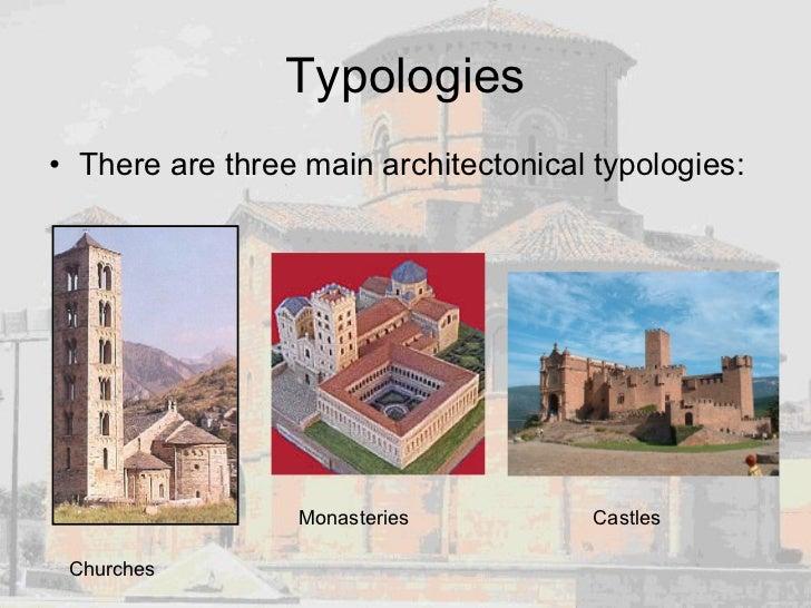 Typologies <ul><li>There are three main architectonical typologies: </li></ul>Churches Monasteries Castles