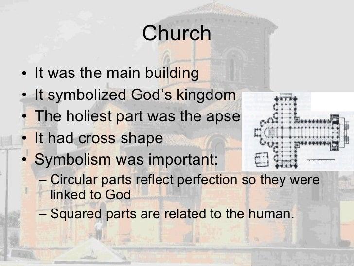 Church <ul><li>It was the main building </li></ul><ul><li>It symbolized God's kingdom </li></ul><ul><li>The holiest part w...