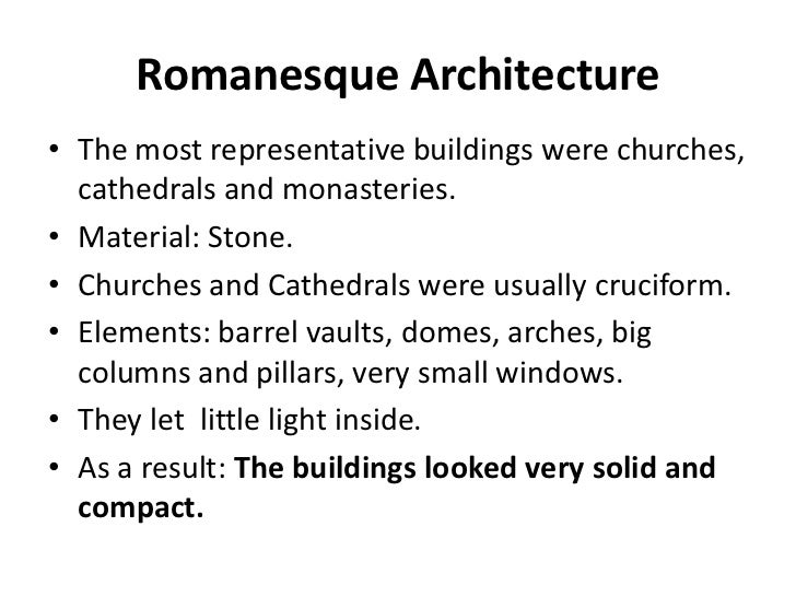an introduction to the history of gothic and romanesque style architecture The first two periods of time that this shift was made was the romanesque style and the gothic  romanesque and gothic architecture  history, architecture.