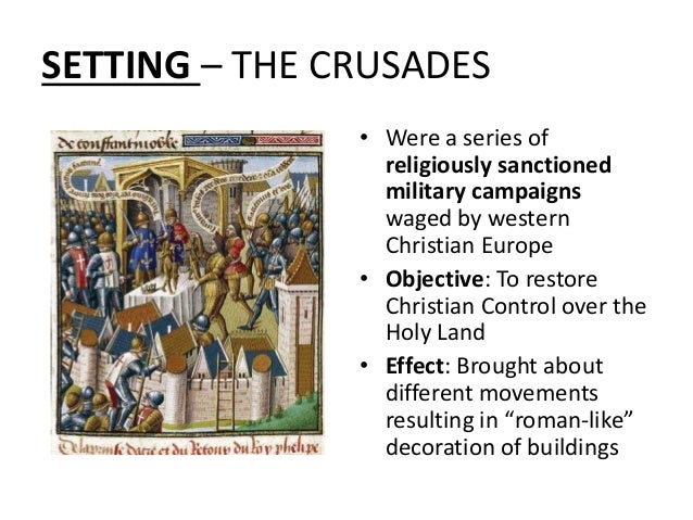 Characteristics of the first crusade