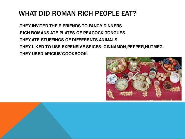 """a overview of kinds of food that romans eat The strong and the weak (romans 14)  with your food him for whom christ died"""" (romans 14:15)  of any special body of people but rather of special types when ."""