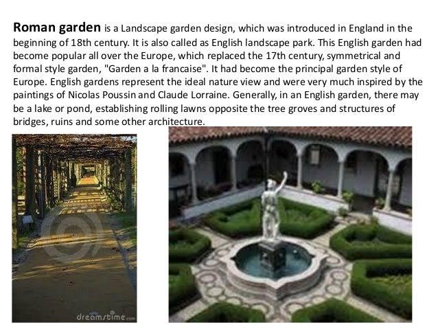 Roman gardens for Roman garden designs