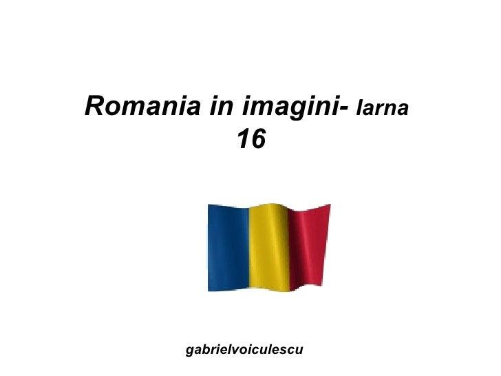 Romania in imagini-  Iarna  16 gabrielvoiculescu