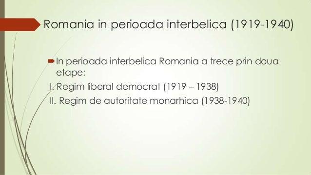 Cultura romaneasca in perioada interbelica