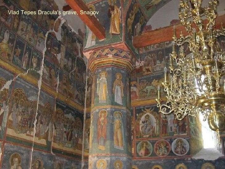 Vlad Tepes Dracula's grave, Snagov