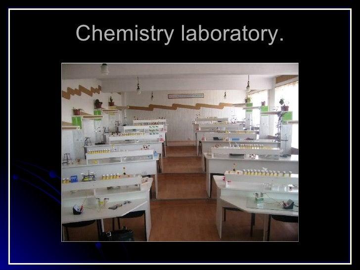 Chemistry laboratory.
