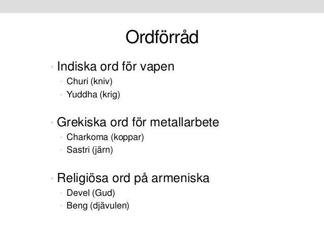 Romani ord