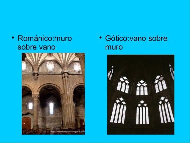 Romanico gotico marta urzay - Vano arquitectura ...