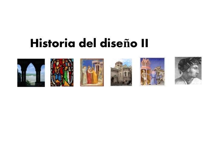 Historia del diseño II