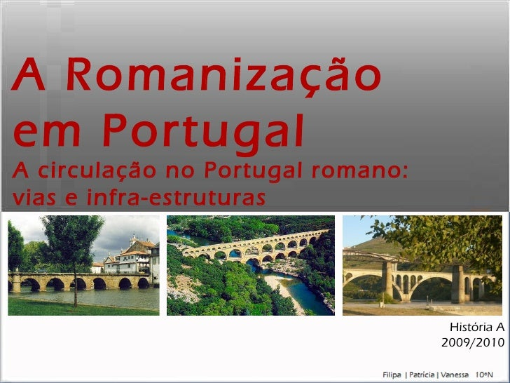 Romanização em Portugal