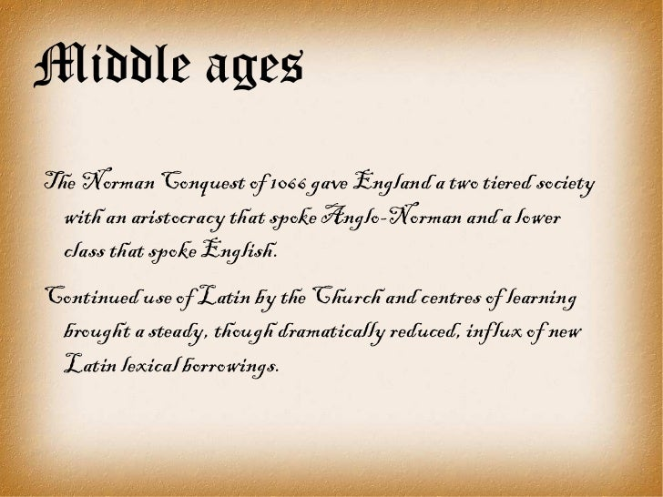 an introduction to the issue of church influence in the middle ages It marks the end of the middle ages and the beginning of modern times  church history: an introduction to  the story of the church the hall of church history .
