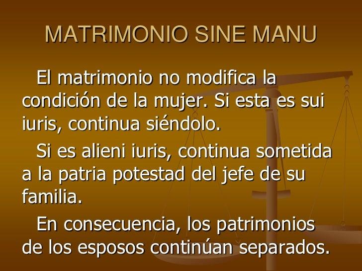 Matrimonio Romano Sine Manu : Romano i leccion